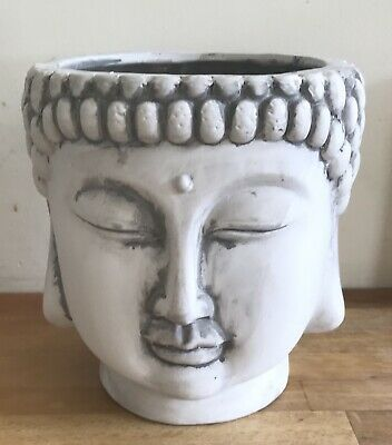 Latex mould for making Large Buddha Head Flower Pot