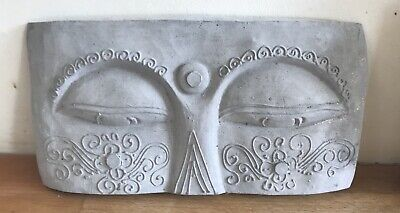 Latex mould for making Lovely Buddha Eyes Plaque