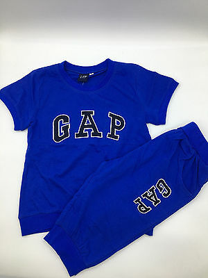 Summer New GAP Infant Baby Boys Tee Short Set Kid T-Shirts Set Outfit Size 1T-5T