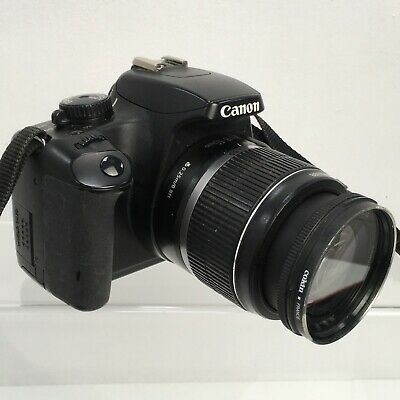 CANON Black EOS 1000D 18-55mm IS Lens 10 Megapixel DSLR Digital Camera FR48457