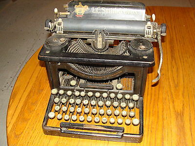 Vintage Antique Typewriter L.c. Smith & Brothers