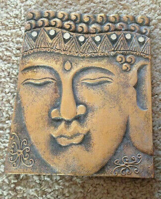 latex mould for making THIS LOVELY LARGE BUDDHA PLAQUE