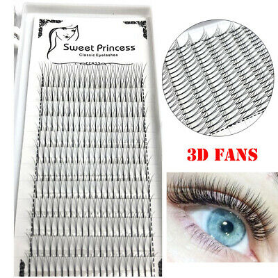 Volume Fans Individual Eye Lash Extension Faux Mink Hair False Eyelashes