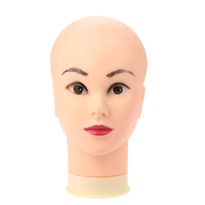 Anself Female Mannequin Head Model Wig Hat Jewelry Display Cosmetology Salon