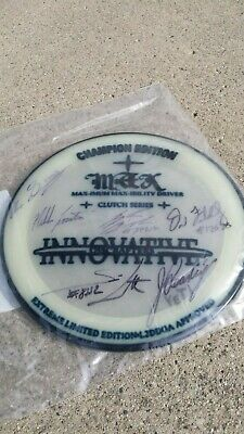 Glow Champion Edition Innovative Discrafters Autographed
