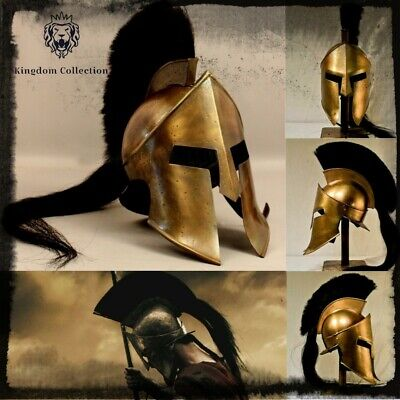 300 Roman Spartan Medieval Helmet King Leonidas Movie Replica Helmet