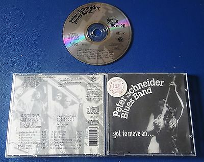 PETER SCHNEIDER BLUES BAND - got to move on - CD ALBUM 1999