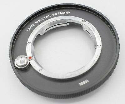 Leitz Leica UOOND 16596 M Mount Camera Lens Adapter Ring For Macro Bellows