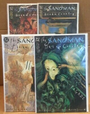 The Sandman Dream Country (bundle) Numbers 17, 18, 19, 20  Mint Condition
