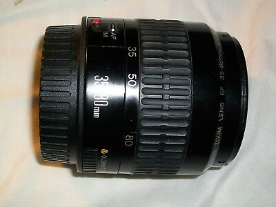 Canon EF 35-80mm Mark 2 f4-5.6 lens will fit EOS Digital Very Good condition