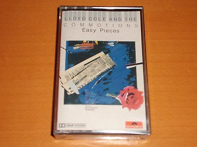 """Lloyd Cole & The Commotions """"Easy Pieces"""" Cassette Tape 1985 New & Sealed!"""