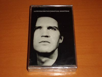 """Lloyd Cole & The Commotions """"Mainstream"""" Cassette Tape Spain 1987 Rare! New!"""