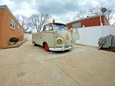 1967 Volkswagen Bus/Vanagon  Lowered 1967 volkswagen  Single Cab T2 pickup