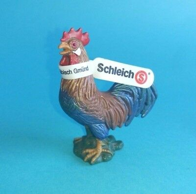 Schleich 13131 Gallo NEW figurine retired Hahn Rooster Coq