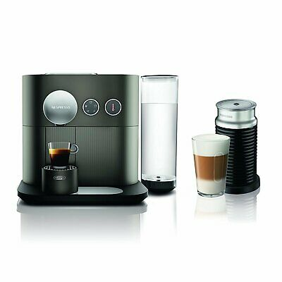 Nespresso Expert Espresso Machine  by De'Longhi with Aeroccino, Anthracite Grey