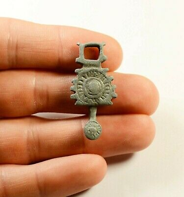 Scarce Viking Era Bronze Pendant Amulet - Wearable