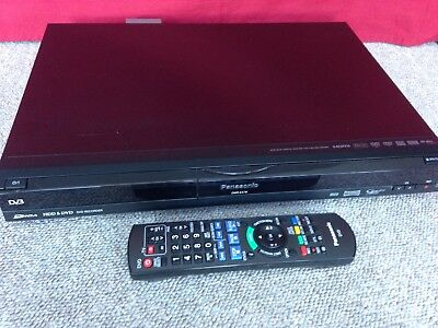 PANASONIC DMR-EX78 FREEVIEW Multiregion HDD Recorder VGC With Remote - Working
