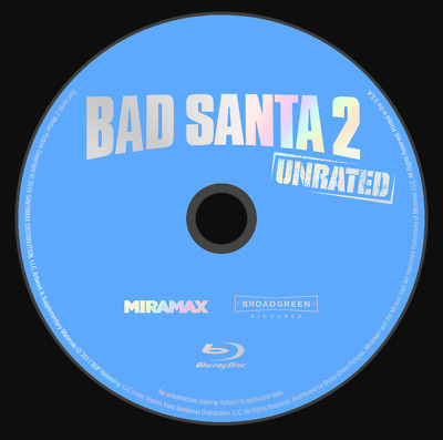 COMEDY BLU-RAY DVD LOT - 5 Movies - Tag; Bad Santa 2; Office Party; Super Troop