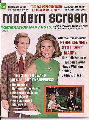 MODERN SCREEN  May 1972 (5/72) - Complete Issue