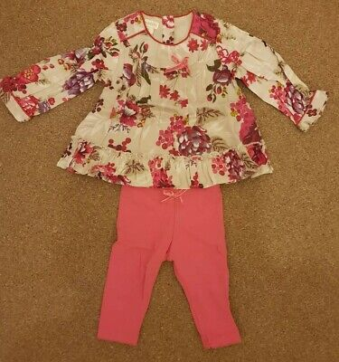 Monsoon Baby Girl Outfit, 0-3 Month's
