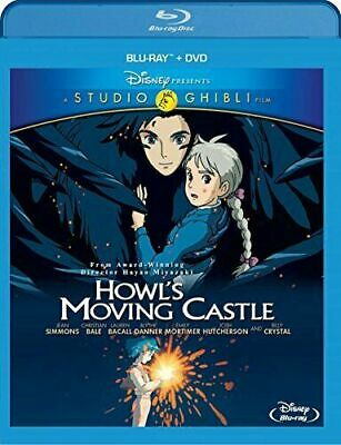 Howl's Moving Castle: Studio Ghibli. Brand New, Unopened, Disney Blu-Ray + Dvd