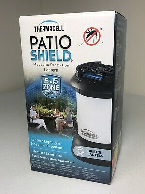 Thermacell Cordless Patio ShieldMosquitoRepeller Zapper Killer withLantern