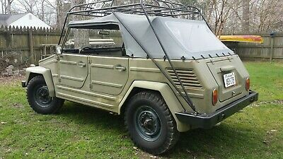 1971 Volkswagen Thing  Rust Free 1971 Volkswagen Safari Thing Trekker