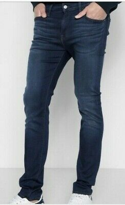 d3e1c3d9 7 SEVEN FOR All Mankind Jeans Paxtyn Slim Skinny Foolproof Denim ...