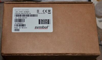 Symbol Motorola LS2208-SR20007R-UR Barcode Scanner new USB with cable and stand