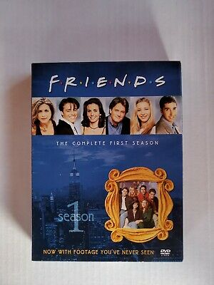 Friends - The Complete First Season (DVD, 2002,4 Disc Box Set)
