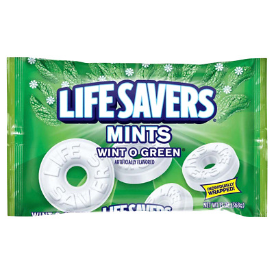 Life Savers, Wint-O-Green Mints Candy, 13 oz