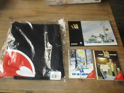 XIII-Vance&Vanhamme-Lot 3 volumes+ tee-shirt-Tbe,comme neuf-1995+EO 2011