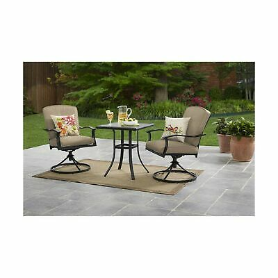 Cool 3 Piece Bistro Belden Park Set 2 Chairs 1 Glass Table Pdpeps Interior Chair Design Pdpepsorg