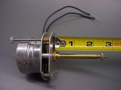 """New Synchron Electric Clock Movement w/ 2 5/8"""" Shaft ~ Advertising & Beer Clocks"""