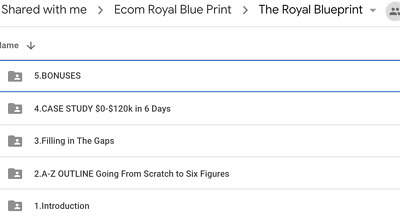 King Commm - Royal Blueprint | How I Took A New Store From 0-$120k First Week!!!