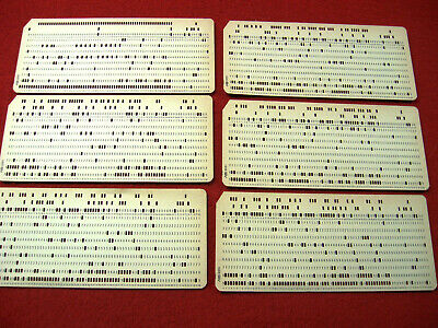 schede perforate computer
