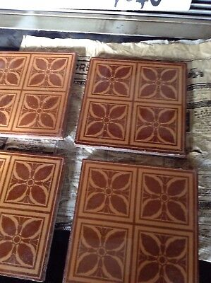 Antique Maw & Co Tiles
