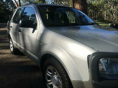 FORD TERRITORY 2005 SY TX 7 SEATER LOW K's SILVER BOOKS