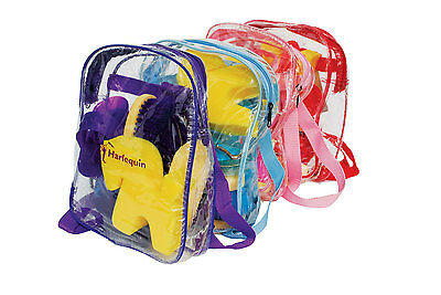 GROOMING KIT KIDS KIT IN RUCKSACK 7 ITEMS IN BAG pink left &  PARTY PONY ROSETTE