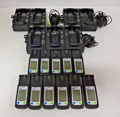 11 x Dräger X-am 2000 & 7 x Charging Cradle Uncalibrated/All charge except 1