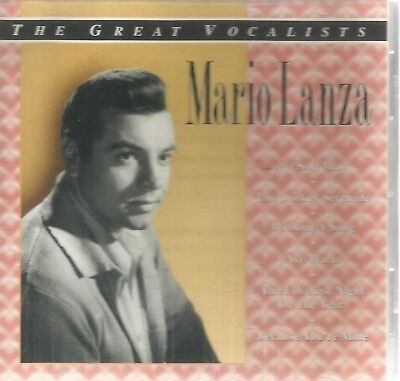 Mario Lanza-The Great Vocalists CD