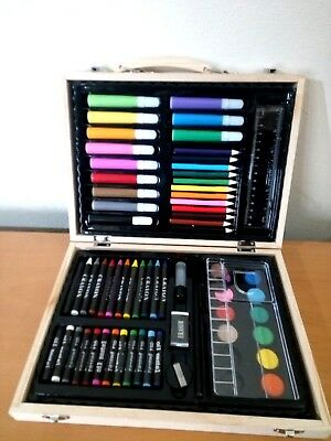 Splendida Valigetta Professionale Per Disegno Royal & Langnickel 134 Pz Nuova Art Supplies Other Art Supplies