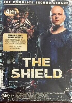 The Shield : Season 2 (DVD, 2005, 4-Disc Box Set) BRAND NEW & SEALED
