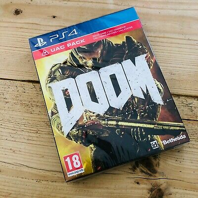 Doom UAC Game Pack PS4 Playstation 4 English PAL Version - Brand New & Sealed
