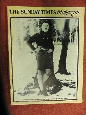 The Sunday Times Magazine March 15 1970. The Hitler Scrapbook.