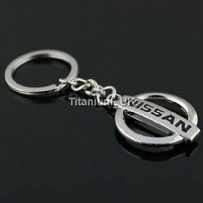 Nissan Keyring NEW UK Seller Boxed or UnBoxed Key Ring Chain Silver