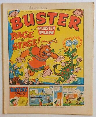 BUSTER & MONSTER FUN Comic - 30th July 1977