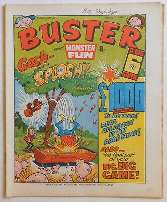 BUSTER & MONSTER FUN Comic - 16th July 1977