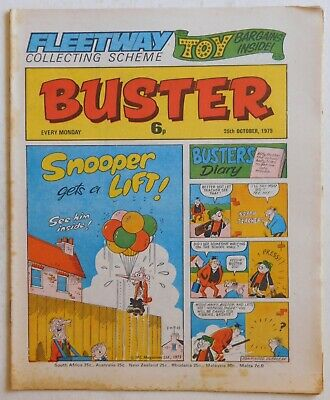 BUSTER Comic - 25th October 1975