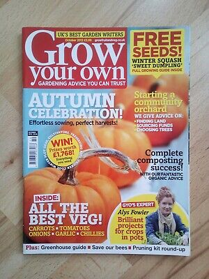 Grow Your Own - October 2012